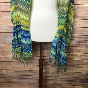 collection eighteen Accessories - Collection Eighteen Multi colored scarf